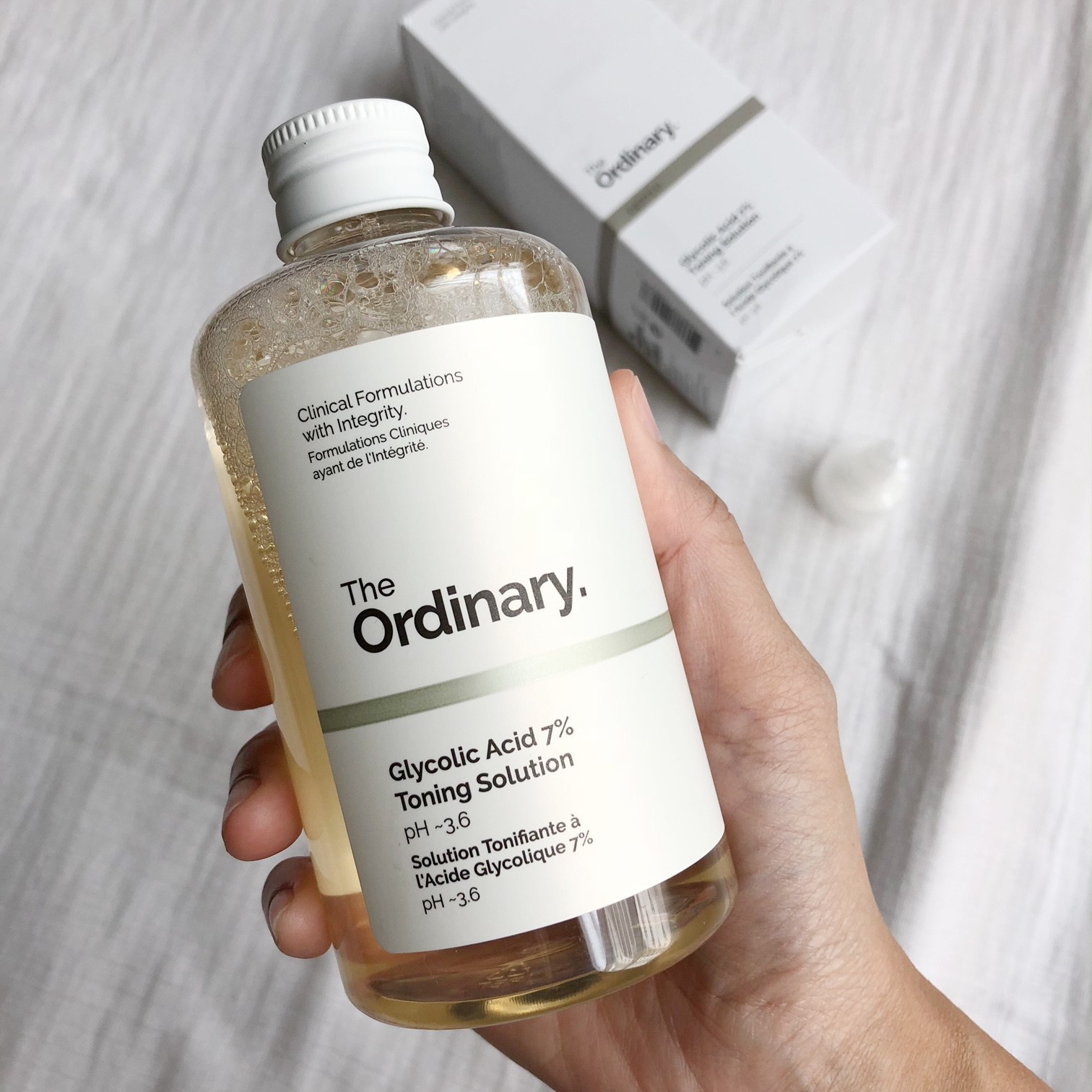 The Ordinary Glycolic Acid 7% Toning Solution 240ml - Mèo Cosmetic